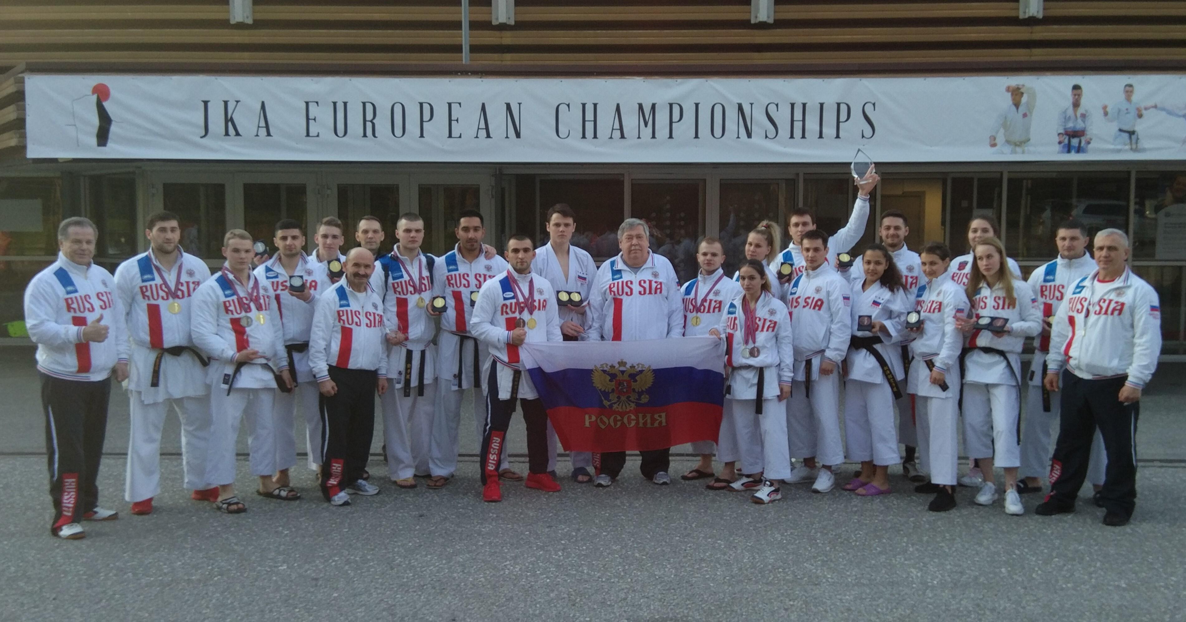 Сборная России второй год подряд побеждает на Кубке Европы